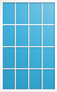 Window grid pattern